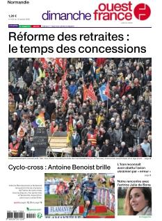 Dimanche Ouest France Calvados Manche Orne |