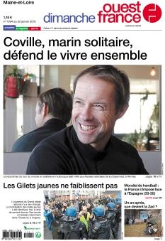 Dimanche Ouest France Maine-et-Loire |