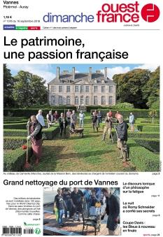 Jaquette Dimanche Ouest France Vannes