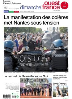 Jaquette Dimanche Ouest France Lannion