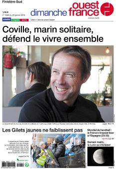 Dimanche Ouest France Finistère-Sud  