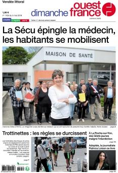 Dimanche Ouest France Vendée Littoral |