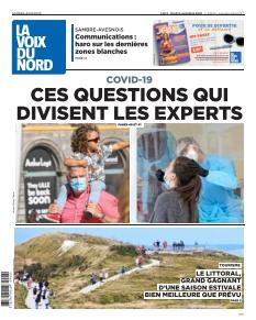 Jaquette La Voix du Nord Maubeuge Avesnes