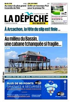 Jaquette La Dépêche du Bassin
