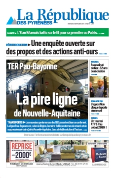 Jaquette La République des Pyrénées
