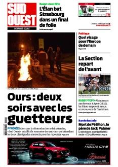 Jaquette Sud Ouest Béarn et Soule