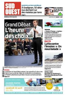 Jaquette Sud Ouest Bordeaux Rive Gauche