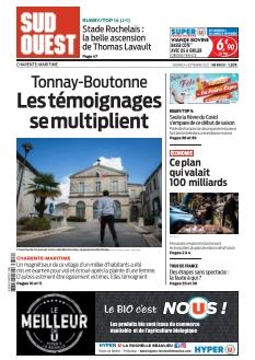 Couverture de Sud Ouest Charente