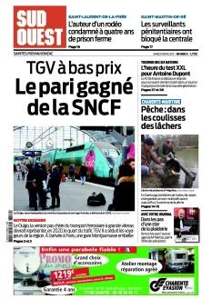Jaquette Sud Ouest Saintes / Royan
