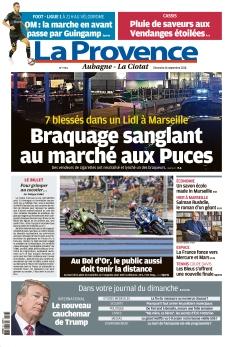 La Provence Dimanche Aubagne - La Ciotat