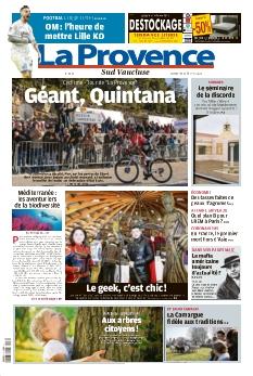 La Provence Dimanche Vaucluse Sud |