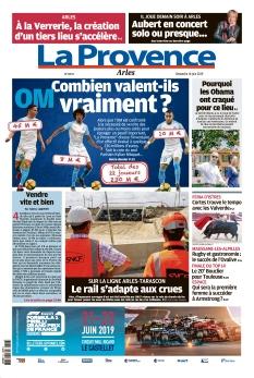 La Provence Dimanche Arles
