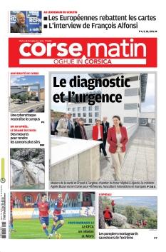 Jaquette Corse-Matin