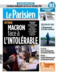 Jaquette Le Parisien Seine-Saint-Denis