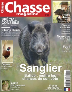 Jaquette Chasse Magazine