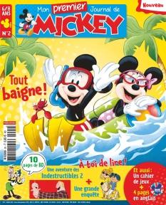 Jaquette Mon Premier Journal de Mickey