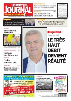 Jaquette Le Petit Journal Pays Catalan