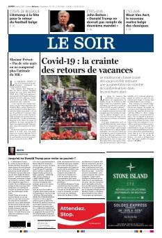 Le Soir édition Wallonie |