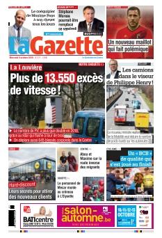 La Nouvelle Gazette édition Centre