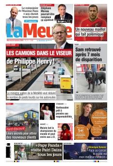 La Meuse édition Namur