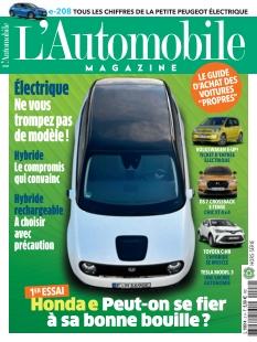 L'Automobile Magazine Hors Série Mobilité Verte