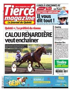 Jaquette Tiercé magazine