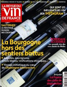 Jaquette La Revue du Vin de France