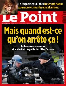 Jaquette Le Point