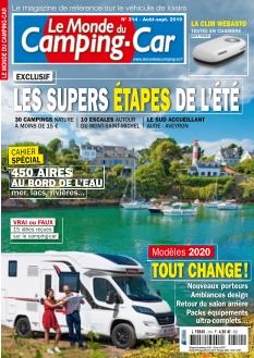 Jaquette Le Monde du Camping-Car