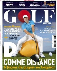 Jaquette Golf magazine