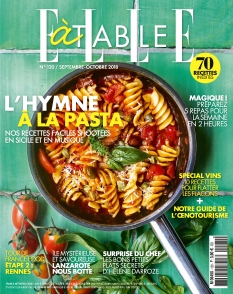 Couverture de Elle à Table