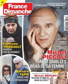 Jaquette France Dimanche