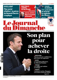 Jaquette Le Journal du Dimanche