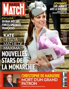 Paris Match No.3414 - 23 au 29 Octobre 2014