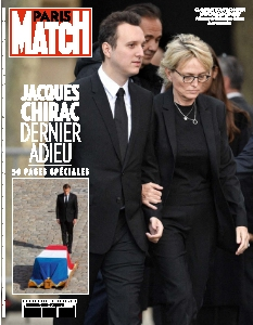 Jaquette Paris Match