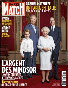 Jaquette Paris Match
