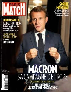 Couverture de Paris Match