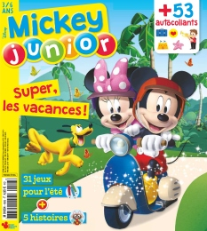Jaquette Mickey Junior